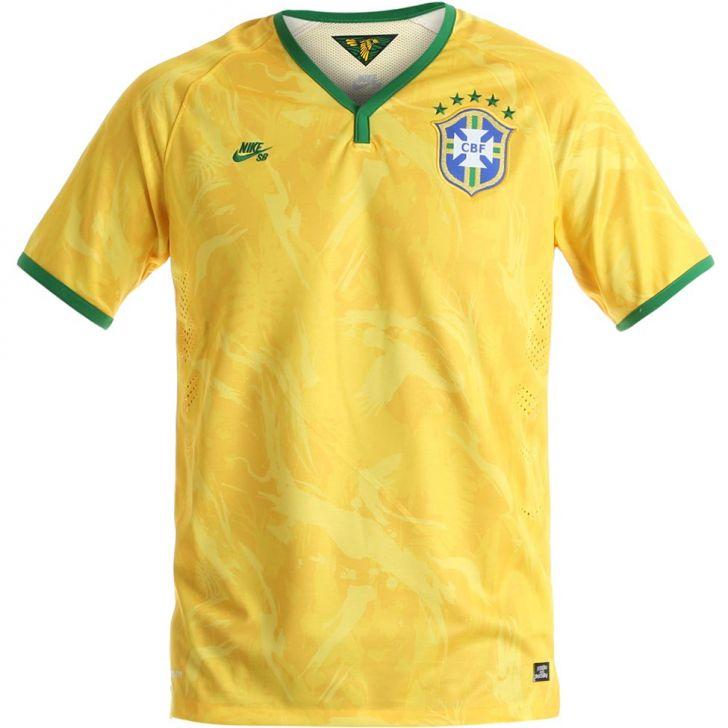 2a6e918406 Nike SB lança camisa alternativa da seleção brasileira – publicidade ...