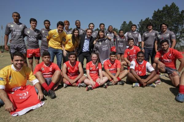 São José dos Campos (SP) - CBRu e Unilever apresentam a Academia de Rugby