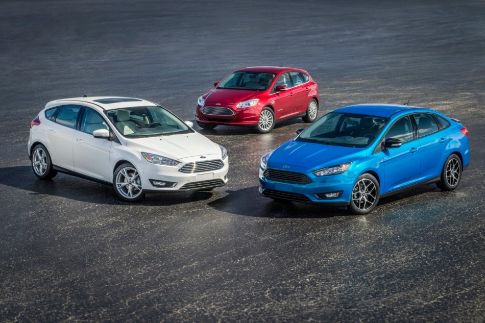 The new 2015 Focus offers a product for every customer through the Power of Choice, from the Focus Electric, sedan and hatchback.