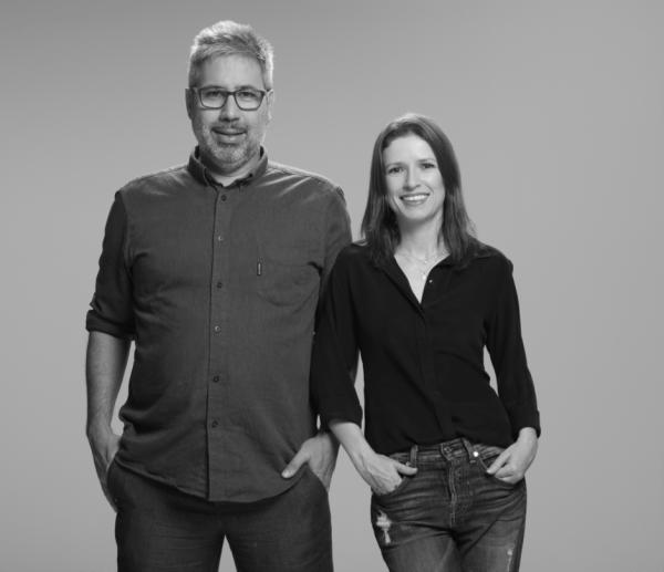Cristian Marini e Zahra Staub