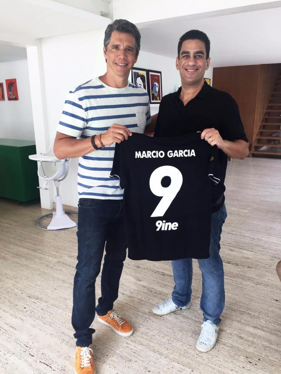 Marcio Garcia e Marco Serralheiro