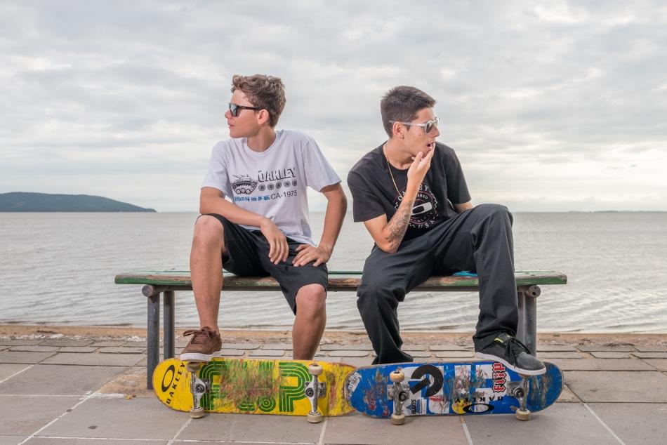 Eduardo Neves e Erick Lopes