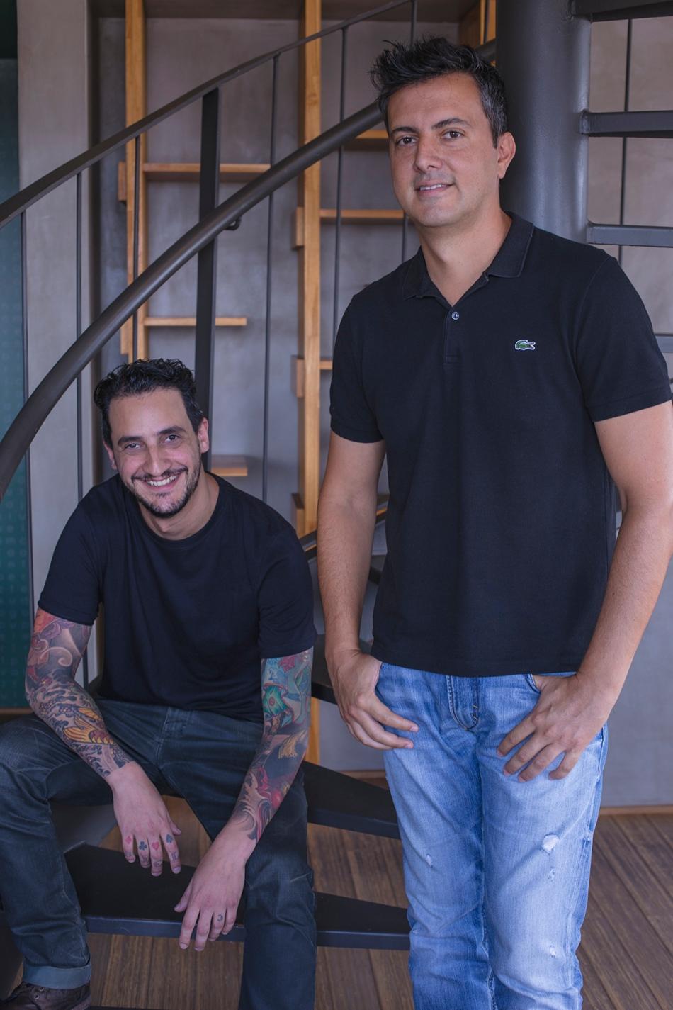Os sócios Daniel Soci e Adriano Costa