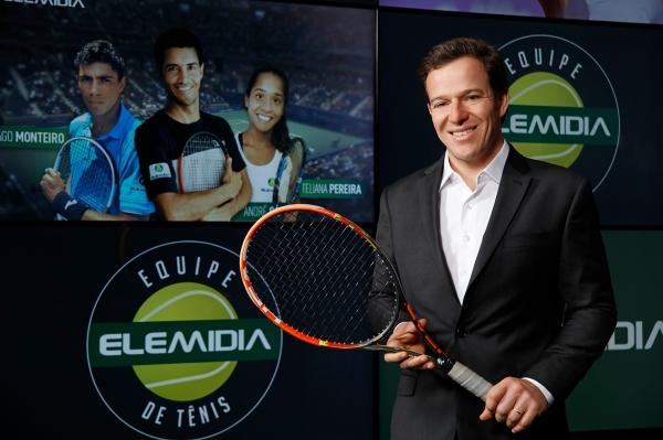Eduardo Alvarenga, CEO da Elemidia / Foto: Marcelo Andrade/Divulgação