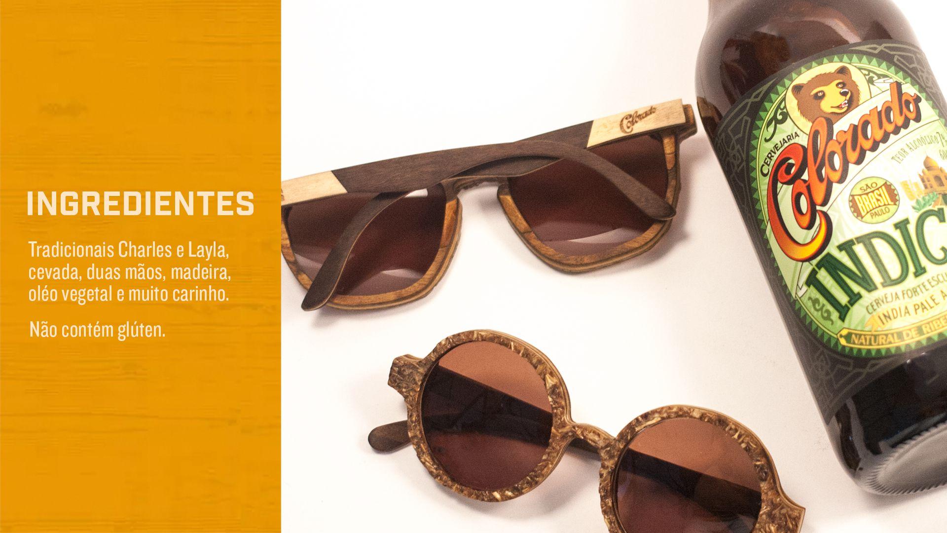 Cervejaria Colorado lança óculos feito com bagaço de malte em parceria com  a Leaf ef1d778f8c