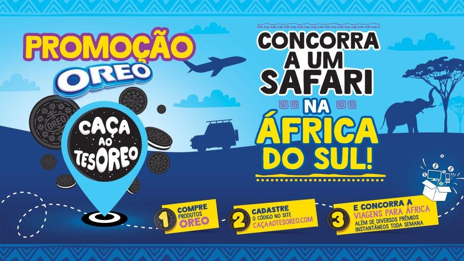 Oreo lança leva consumidores à África do Sul