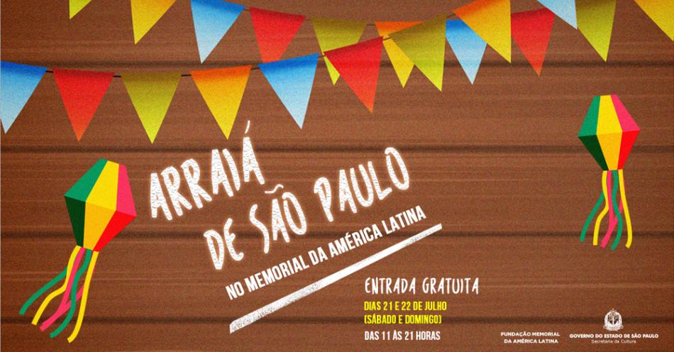 fcf84c2368cef A Festa Julina deste ano no Memorial da América Latina acontece dias 21 e 22  de julho (sábado e domingo) e é mais uma atração para famílias, casais e  amigos ...